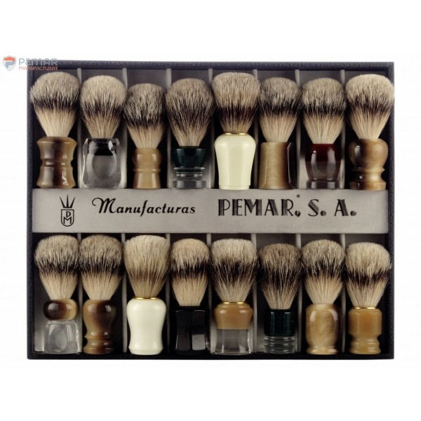 EXHIBITOR SHAVING BRUSH